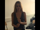 Cara Delevingne Singing I'm a believer! Cara Delevingne New Instagram Video 2014
