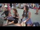 HANG MUSIC IN ARAMBOL BEACH, NORTH GOA. ХАНГ В АРАМБОЛЕ, ГОА, ИНДИЯ.