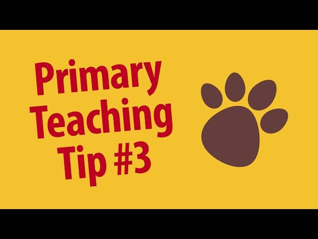 Primary Teaching Tip: Beat the Clock