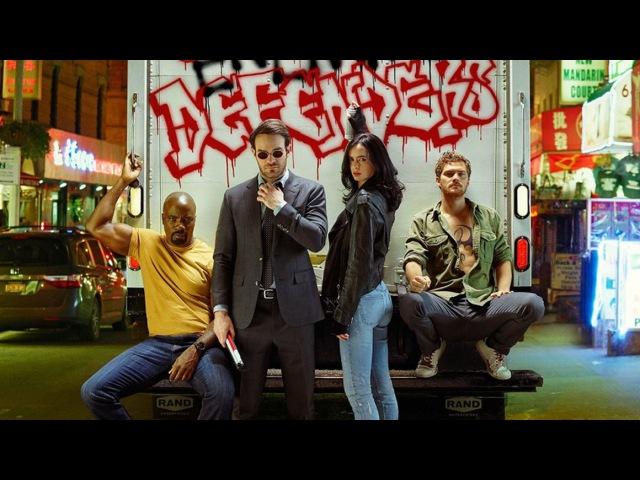 Защитники/ The Defenders (1 сезон) Русскоязычный трейлер