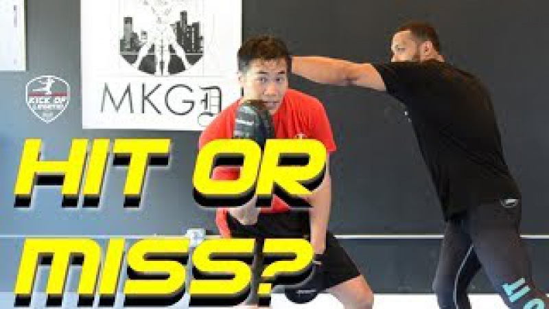 MMA JKD PANANTUKAN Reaction drill to follow up after missing rear hand