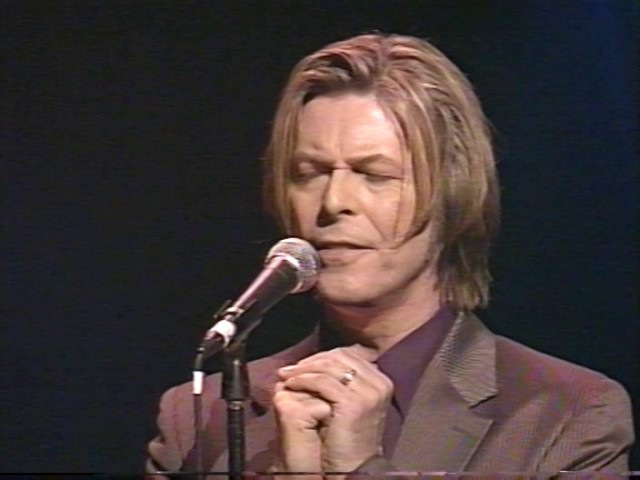 David Bowie - Wild Is The Wind, Yahoo Internet Awards 2000