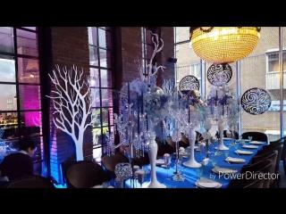 Новогодняя зимняя сказка - детский День рождения в ресторане