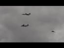 RAW B1 B52 B2 Nuclear Bombers Fly Over Ядерные бомбардировщики