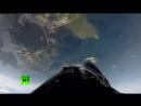 Бочка и мёртвая петля вид из кабины пилотов Су-35С