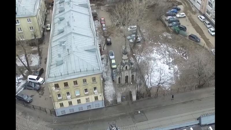 Колокольня старообрядческой церкви Великомученицы Екатерины на Бауманской