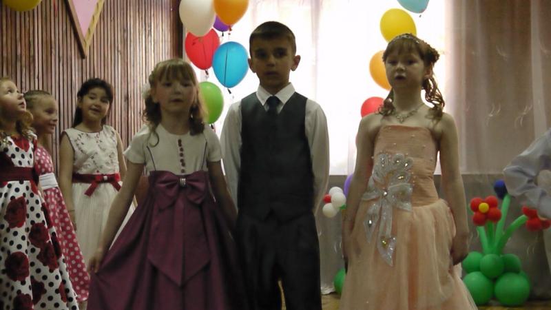 Выпускной группы Вишенка в д/с №38 Рябинушка г.Й-Олы. 2015год