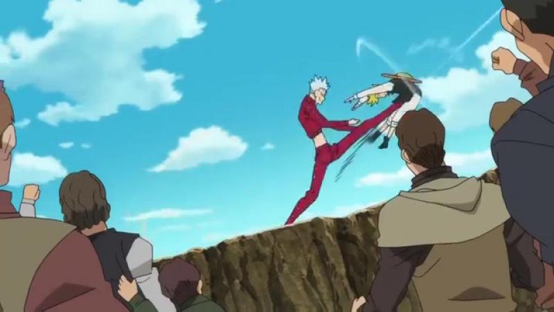 Момент из 11 серии аниме Семь смертных грехов / Nanatsu no Taizai