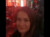 Каролина на Тайм Сквер