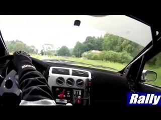 Самые жесткие и лучшие моменты из кабины пилота Rally