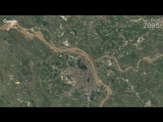 Google Timelapse - Hanoi, Vietnam