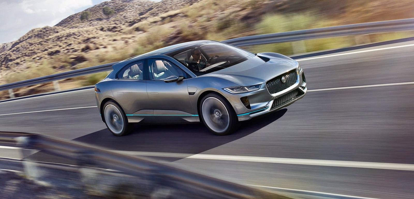 Jaguar I-Pace: автомобили будущего получат новую компоновку