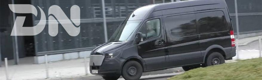 Mercedes ответит «Фольксвагену» на новый Crafter
