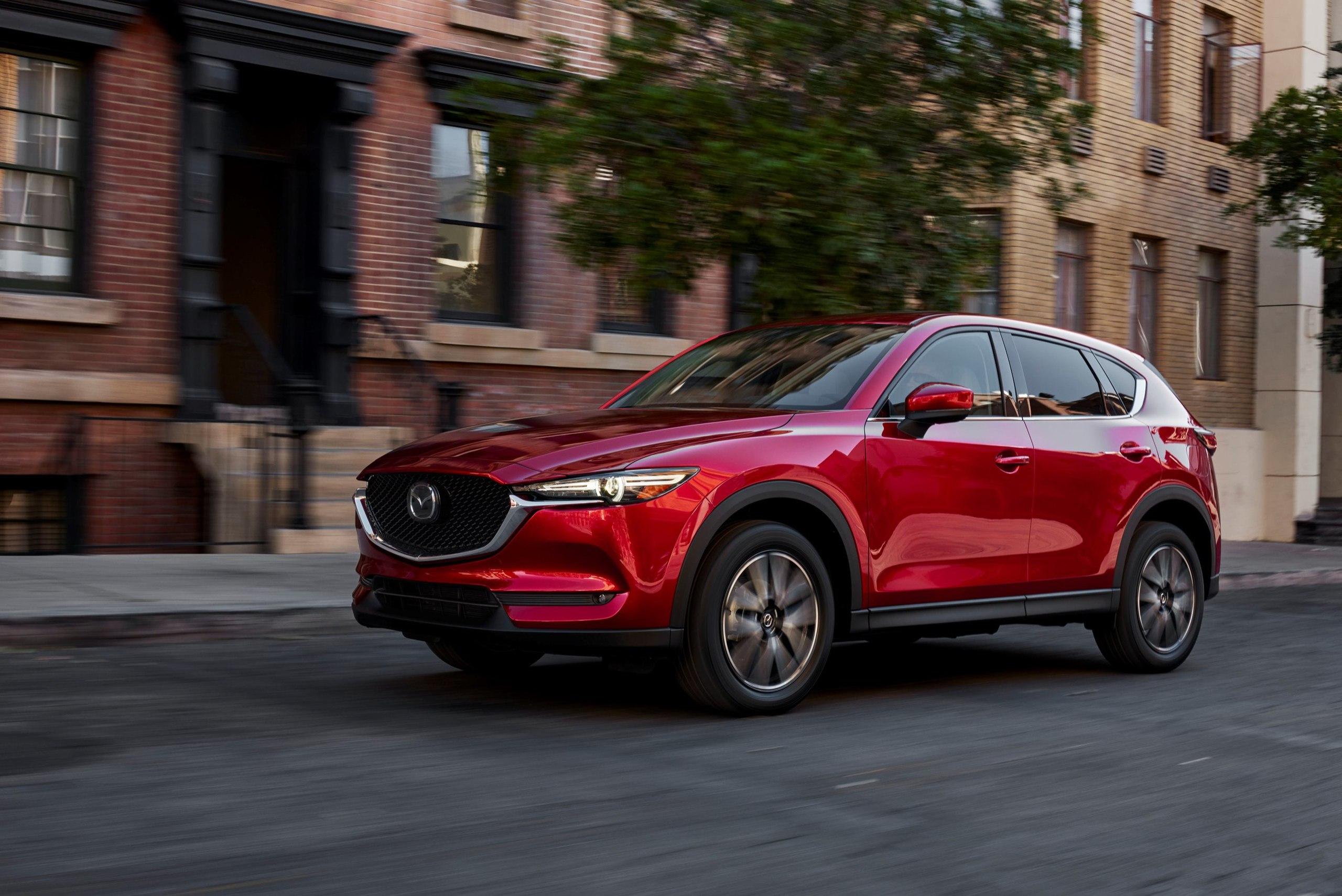 Новая Mazda CX-5: первые официальные фото
