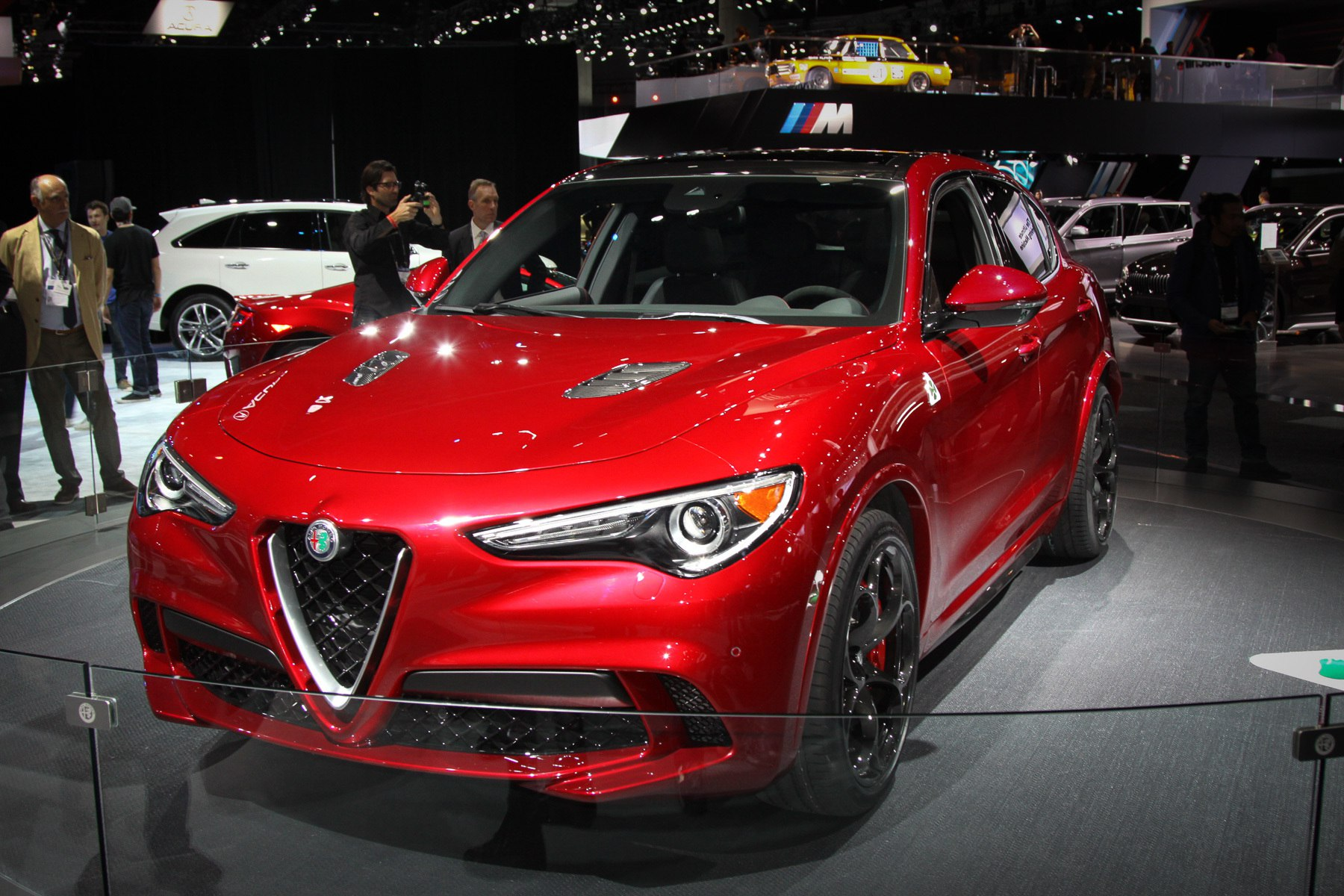 Кроссовер Alfa Romeo признан лучшим в Лос-Анджелесе