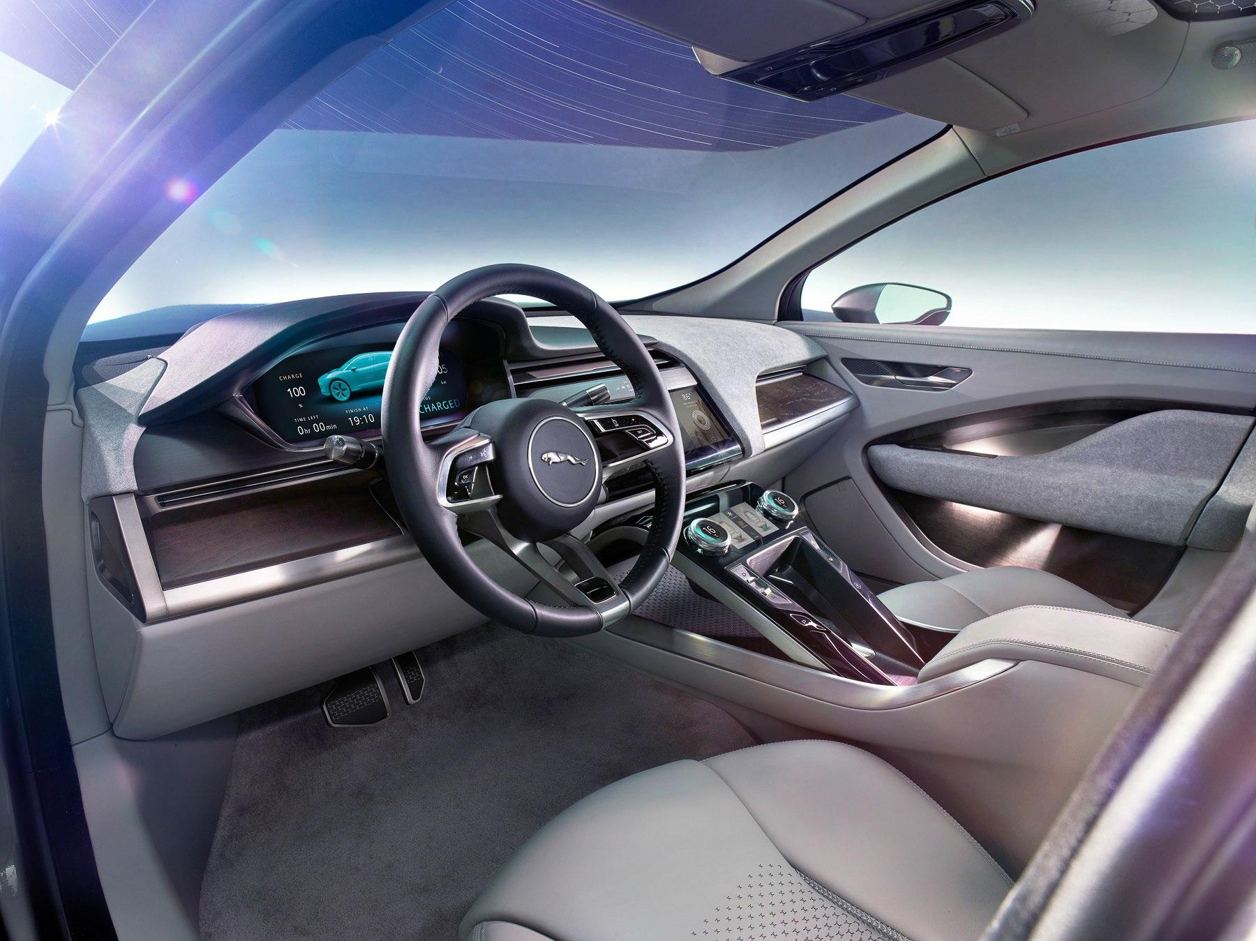Электрический Jaguar I-Pace будут продавать в России