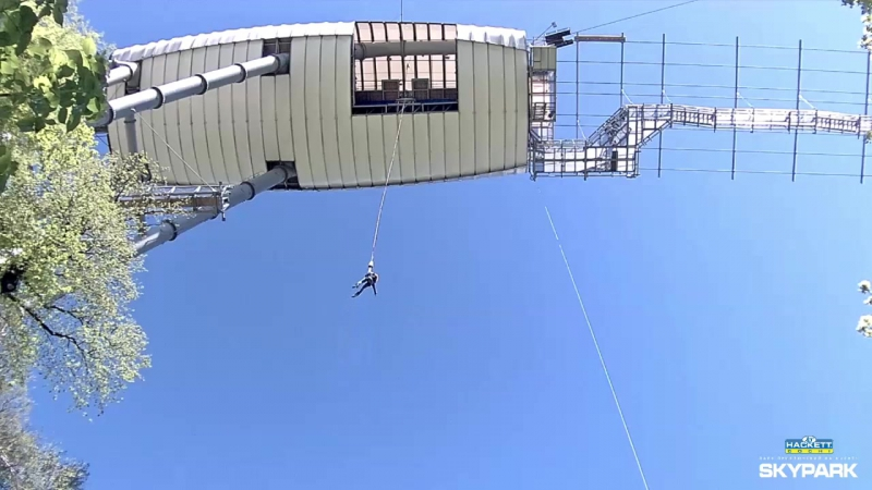 Skypark AJ Hackett Sochi / Скайпарк ЭйДжей Хаккетт. Bungy 69.