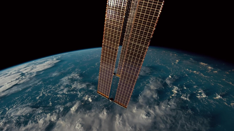 Станция МКС - ISS Symphony (Timelapse of Earth from International Space Station) [riF]