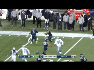 Lions vs. Seahawks - NFL Wild Card Game Highlights