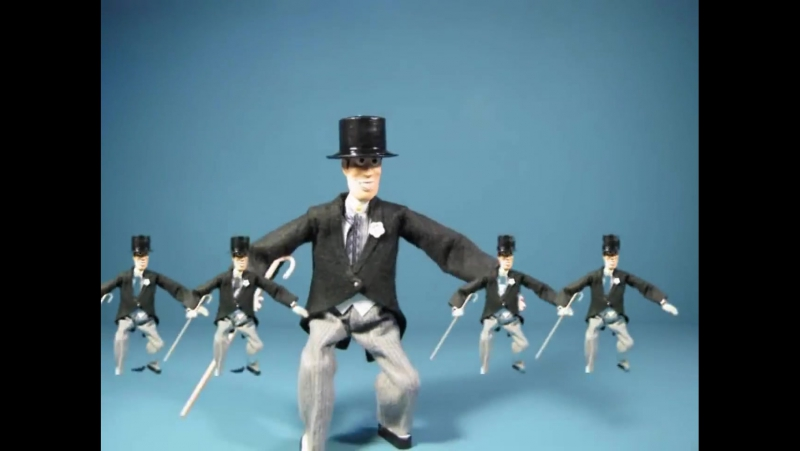 Fred Astaire Puttin on the Ritz Animation