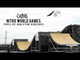 2017 Nitro World Games: Triple Hit Qualifying // insidebmx