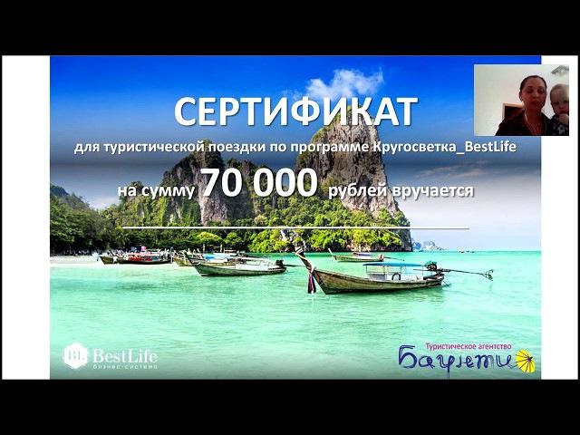 Кругосветка BestLife. Первые победители. Путешествие на 70.000, и призы на 20.000, 10.000 и 5.000.