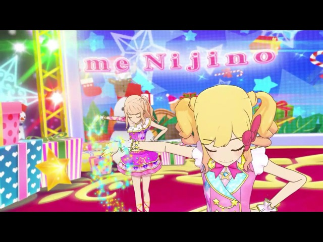 (HD) Aikatsu Stars - Episode 37 - Yume, Laura, Ako, Mahiru - We wish you a merry Christmas -