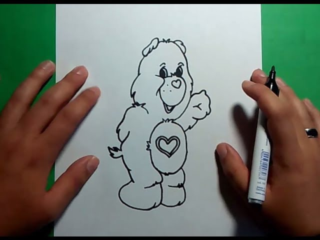 Como dibujar un oso de peluche paso a paso 16 | How to draw a teddy bear 16