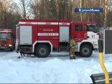 Детскую площадку в поселке Солнечное открывали со спасателями