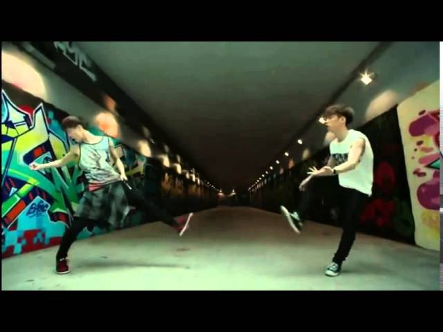 Rocky Moonbin (Astro) - Dark Choco Legs (dance)