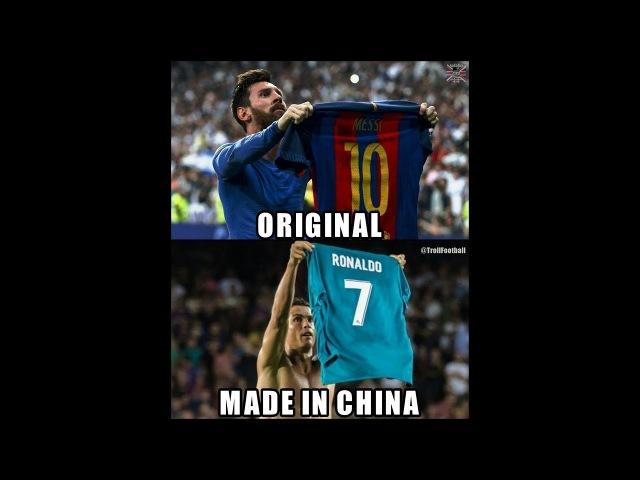 Cristiano Ronaldo plagiarism of Lionel Messi/Кристиану Роналду плагиат Лионеля Месси