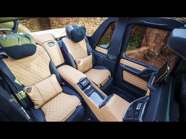 2017 Mercedes Maybach G650 Landaulet INTERIOR