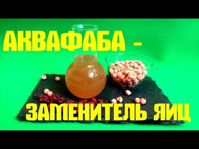 АКВАФАБА – идеальный_ЗАМЕНИТЕЛЬ_ЯИЦ! 1_яйцо_заменяет_3_ложки_аквафабы