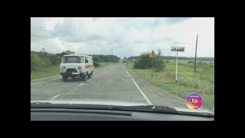Ремонт дороги между посёлками