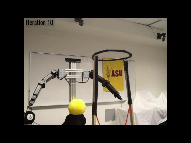 ASU Basketball Playing Robot