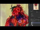 Poppy Girl speed paint