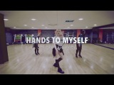 HANDS TO MYSELF - Selena Gomez Dance ROUTINE Video  Brendon Hansford Choreography