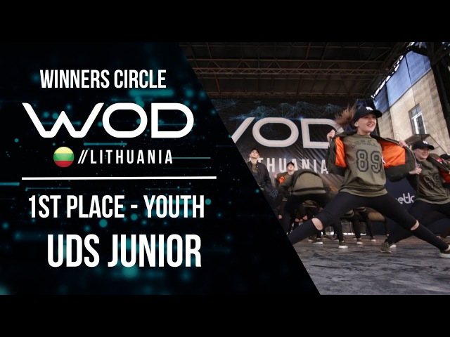UDS JUNIOR   1st Place Youth   Winner Circle   World of Dance Lithuania   WODLT17