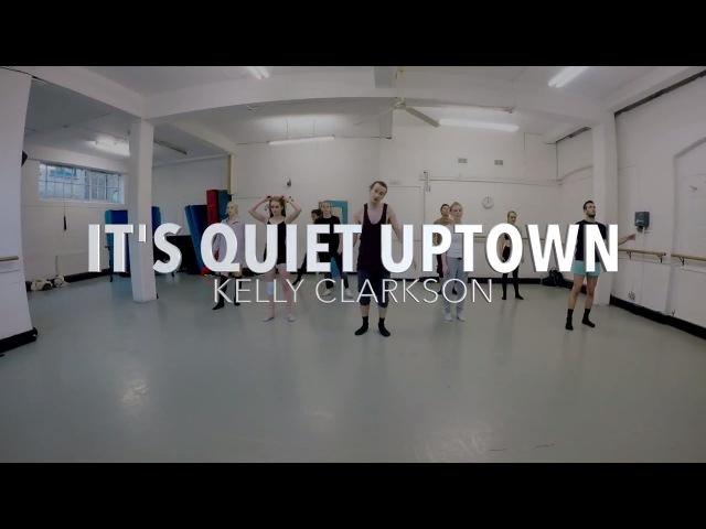 ITS QUIET UPTOWN - Kelly Clarkson | Hamilton Remix's Dance ROUTINE Video | Brendon Hansford Choreo