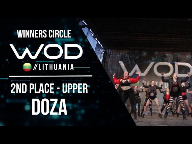 DOZA   2nd Place Upper   Winner Circle   World of Dance Lithuania   WODLT17