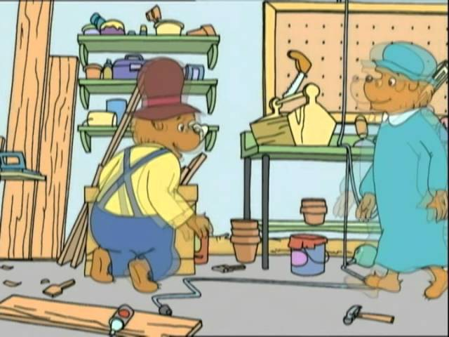 The Berenstain Bears: Say Please and Thank You / Help Around The Workshop - Ep. 35