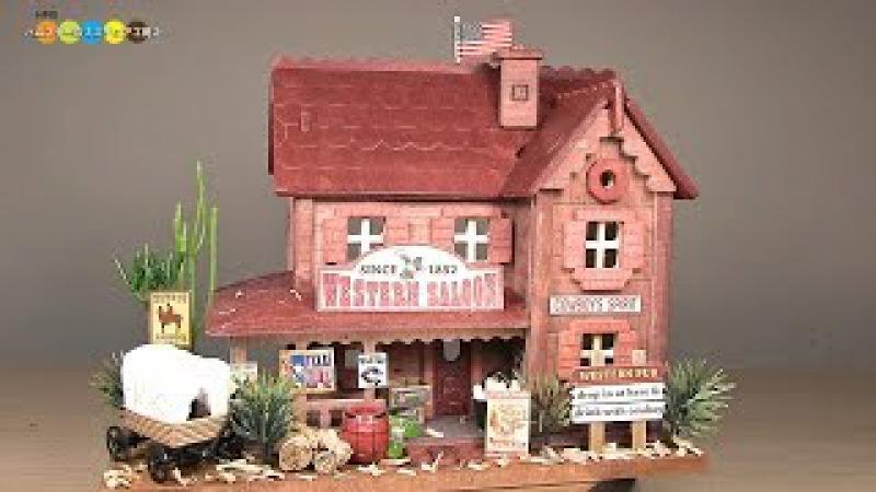 Billy Miniature Western Saloon Kit ミニチュアキット ウエスタンパブ作り