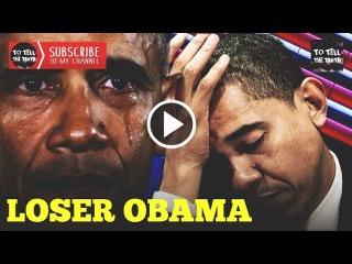 Barack Obama - Throwing Temper Tantrum Before Leaving Office!