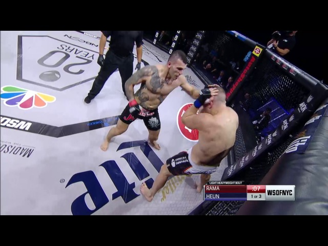 WSOFNYC Smealinho Rama vs. Jake Heun Full Fight