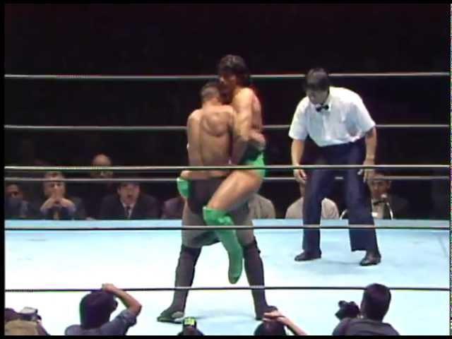 Pancrase - Masakatsu Funaki vs Venon Tiger White 1994 12 16
