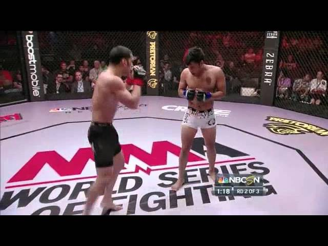 WSOF 3 Brenson Hansen vs Josh Montalvo Full Fight