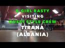 Bgirl Rasty visiting Quest Style Crew (Albania, Tirana)