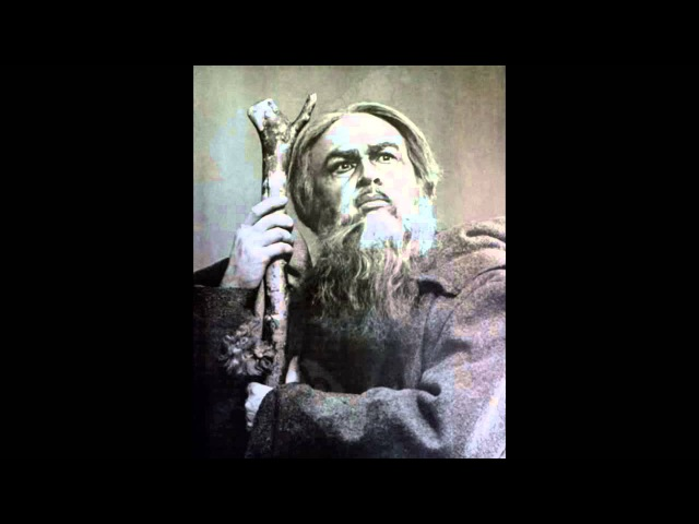 Штоколов Борис - Песня варяжского гостя Boris Shtokolov - Song of the Viking Guest from Sadko