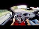 NEW Abarth 595 Competizione BRUTAL ACCELERATION Akrapovic Bilstein b14 POV Driving