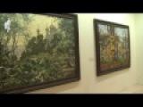 Патриарх Кирилл посетил выставку художника В.И. Нестеренко в Москве